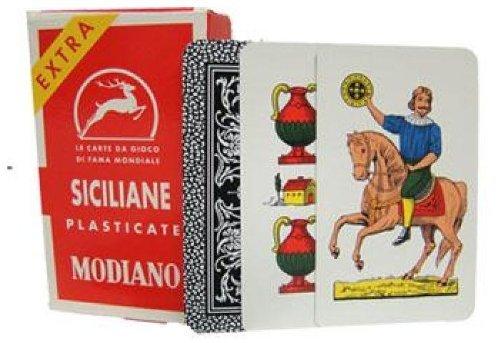 Modiano Siciliane N96 Italian Regional Playing Cards - 1 Deck