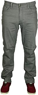 Kam Mens Latest King Size Stretch Chino Jeans Straight Leg in Black and Grey Colours Size 42-60