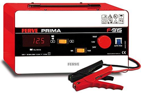 FERVE F-915 Prima Cargador 12-24V 8-16A