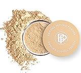 bellapierre Banana Setting Powder | Lightweight Color-Correcting Powder with All Day Makeup Protection | Eliminates Blotchiness and Dark Under-Eye Circles | Matte Tint - Original - 0.14 Oz