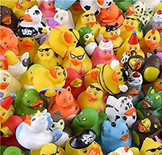 Rhode Island Novelty Assorted Rubber Ducks   Set of 100