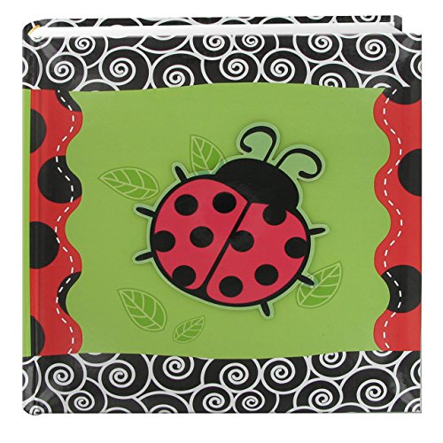 Pioneer Photo Albums 200-Pocket 3-D Lady Bug Applique Cover Photo Album, 4 by 6-Inch