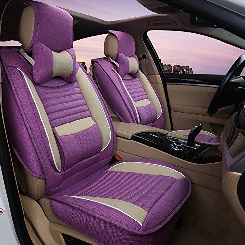 AMYMGLL Coussin de voiture Général Couverture Linge Deluxe (11Réglez) Édition générale coussin voiture couverture des options Four Seasons Universal 5 Couleur , 3