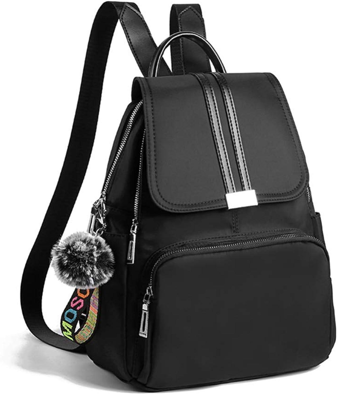 TT Tasche weiblich Mode einfach wild Oxford Stoff Doppel-Umhngetasche B