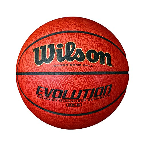 Check Out This Wilson Evolution Indoor Game Basketball, Intermediate - Size 6 (Renewed)