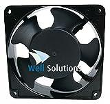 Well Solutions® Lüftungsventilator- Ventilator für Sauna bis 16 m³ -