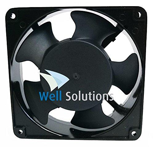 Well Solutions® Lüftungsventilator- Ventilator für Sauna bis 16 m³
