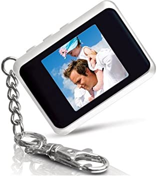 Coby DP151WHT 1.5-Inch Digital TFT LCD Photo Keychain White