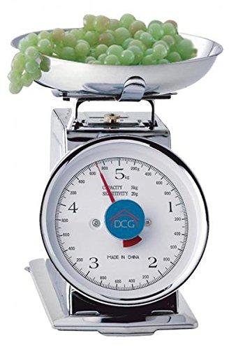 DCG Eltronic PWC1000 Meccanico Argento bilancia da cucina