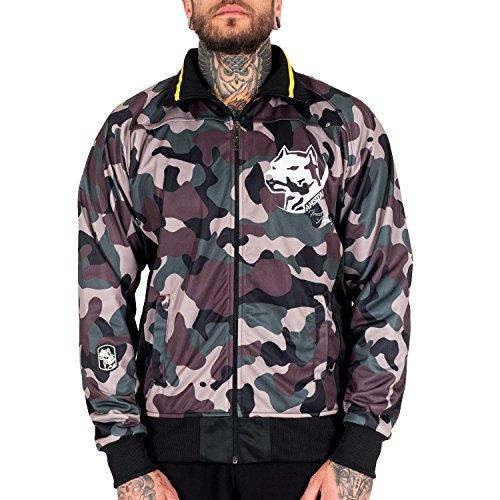 Amstaff Männer Tafio Trackjacket in Camouflage XL