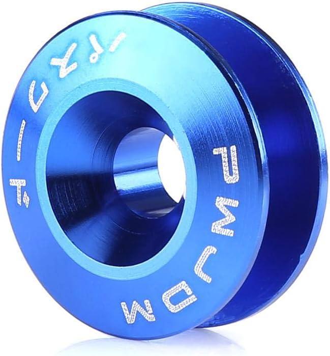 02 Akozon Car Aluminium Alloy Bumper Washer//Bolt Engine Bay Dress Up Kit Quick Release Fastener