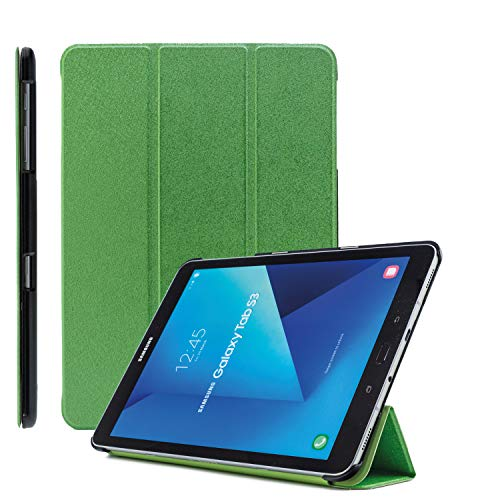 COOVY® Ultra Slim Cover für Samsung Galaxy Tab S2 9.7 SM-T810 SM-T813 SM-T815 SM-T819 Smart Schutzhülle Hülle Hülle mit Standfunktion & Auto Sleep/Wake up   grün