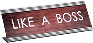 Best like a boss nameplate Reviews