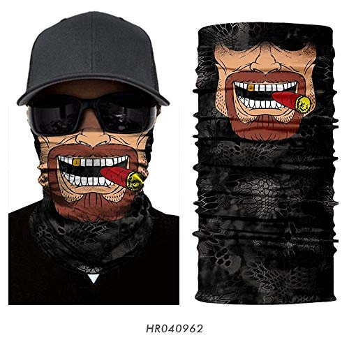 Goed ontworpen 3D Multifunctionele Beschermende Naadloze Face Mask Fietsen Sjaal Outdoor Gezicht Shield Headwear Winddicht Hiking Hoofdband Running Head Wrap Skiën Warm Neck Gaiter Snowboarden Bandana