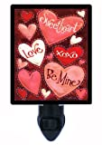 Valentines Day Night Light, Sweethearts, XO, Other Holidays