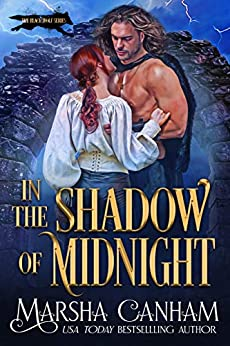 In The Shadow of Midnight (The Black Wolf Series Book 2) by [Marsha Canham]