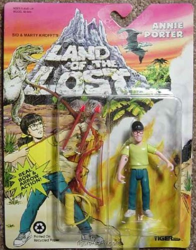 LAND OF THE LOST Annie Porter Action Figu