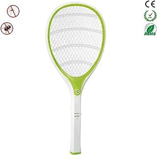 Chlry Raqueta Matamoscas electrico Mata Mosquitos, Recargable con Protección de Carga y Luces LED, Evitar el diseño de Choque eléctrico, Seguro, antimosquitos Mata Insecto Moscas Interior