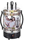 GMMH Barbecue Grill de Table Grill électrique Vertical vertikalgrill shashlik barcebue pour döner Gyros schaschlikspieße 6 Poulets