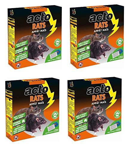 Maisange ACTO - appat maïs Rats - Mortel même a Faible Dose - rat8