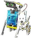 VEZOL New Learning Educational 14 in 1 Solar Robot Kit for Kids