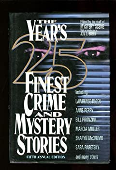 The Year's 25 Finest Crime and Mystery Stories: Fifth Annual Edition - Book #1995 of the Year's Finest Crime and Mystery Stories