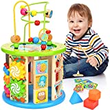 Best Activity Cubes - Victostar Activity Cube, 10 in 1 Bead Maze Review