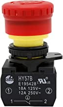 KEDU HY57B Emergency Stop Push Button Switch Industrial Pushbutton Switches for Electrical Appliances and Machinery Equipm...