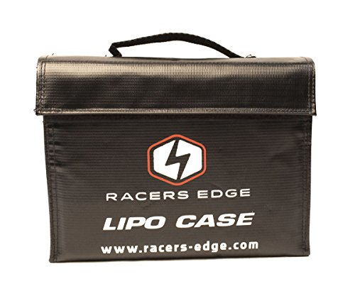 Racers Edge 2104 LiPo Battery Charging Safety Briefcase (240x180x65mm)
