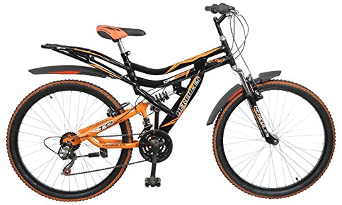 Hercules Topgear CX70 Dual Suspension 18 Speed Bicycle (26T) Under 10000
