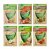 Knorr Goracy Kubek Instant Soup in Cup - Randomly Selected (Bundle of 6)