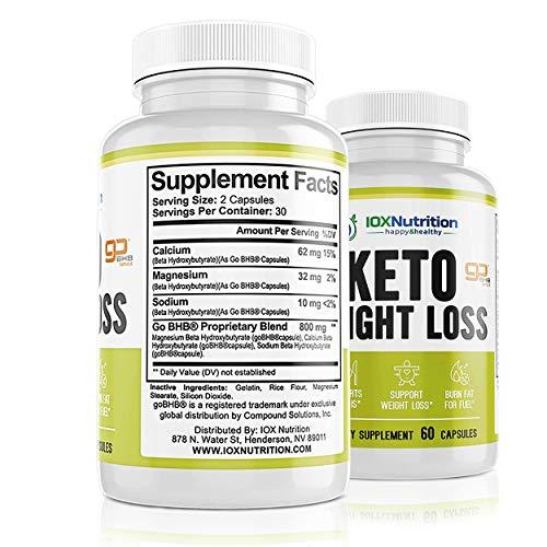 Keto Pills - Supports Keto Burn - Fast Ketosis Diet for Men and Women - Slim Formula with Advanced Keto Pill Capsules - Boost Keto Energy and Metabolism - Pure BHB Keto Pills - 60 Capsules 6