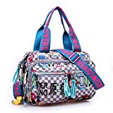 Maket Women Large Hobo Handbags Nylon Harajuku Multiple Pockets Casual Travel Tote Bag Weekender Shoulder Crossbody Nursing Mom Diaper Bag Tote