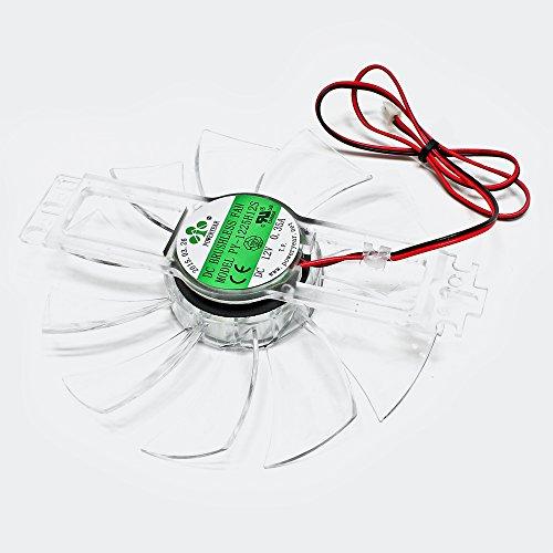 WilTec Pièce détachée Ventilateur pour Couveuse Automatique Mini Incubateur