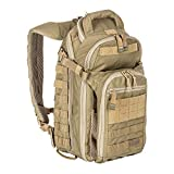 5.11 Tactical All Hazards Nitro Backpack, Nylon, 21-Liter Capacity, Gear Compatible, Sandstone, 1 SZ, Style 56167