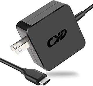 CYD 61W 45w USB C Type-C Power Adapter Replacement for Laptop-Charger MacBook Pro 13-in 2016, 2017, 2018 HP Spectre X360 13 Elite Spectre X2 Dell Xps 12 9250 00rvr9 0rvr9 hka30nm150 la45nm150