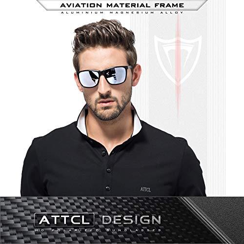ATTCL Uomo Occhiali da sole polarizzati Super