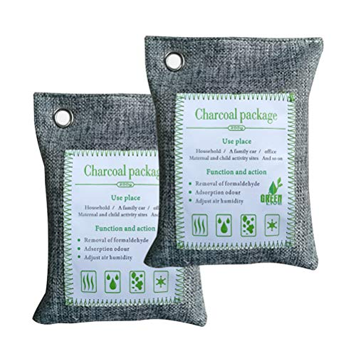 Review Of Bamboo Charcoal Deodorants, Activated Carbon Air Purifying Bag Pack Absorber Odor Absorben...