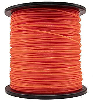 KAKO Round 095 Trimmer Line 0.095 String Trimmer line,095 Weed Eater String line Replacement for String Trimmer Weed Trimmer 5-Pound,1280-ft Length String Trimmer Line  Orange