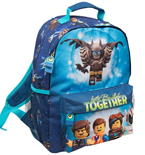 Mochila Escolar Niño Lego Movie Batman Cartera