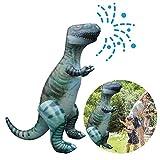 Chirsemey Juguete De Rociadores De Playa Inflable para Niños, Rociadores De Jardín De Dinosaurios Gigantes, Juegos De Salpicaduras De Agua De Jardín De Verano para Niños, 180x180x90 Cm