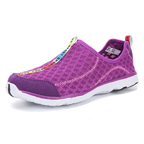 DoGeek Chaussure Aquatique Zapatos de Agua Acuático Escarpines para el Agua de Surf de Playa de Deporte