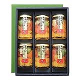 ふみこ農園 和歌山県産若桃入 フルーツミックスコンポート140g×6本 賞味期限 製造日より180日間 (通常)