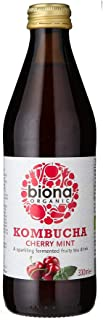 Biona Organic Kombucha Sour Cherry Mint, 330ml