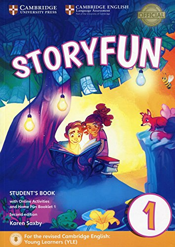 Storyfun for Starters Level 1 Student's Book with Online Activities and Home Fun Booklet 1 [Lingua inglese]: For the revised Cambridge English: Young Learners (YLE)