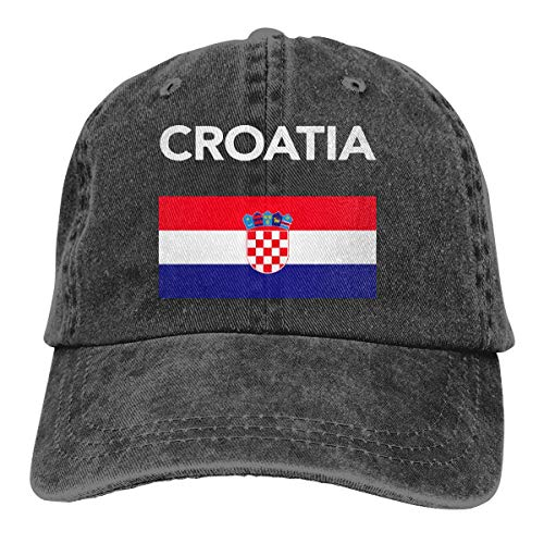 Bikofhd Croatia Croatian Flag Unisex Cowboy Hat Baseball Caps Adjustable Sports Golf Cap Style8219