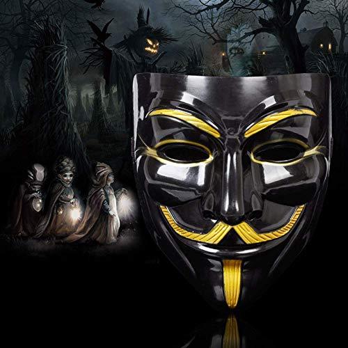 ZWWZ Mscaras de Halloween V for la mscara de la Venganza de Guy Fawkes Annimo Disfraz de Cosplay del Vestido HAIKE ( Color : 4 )