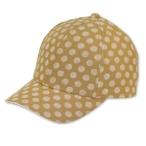 Sterntaler Baby-Mädchen Baseball-Cap 1422106 Baseballkappe, gelb, 49