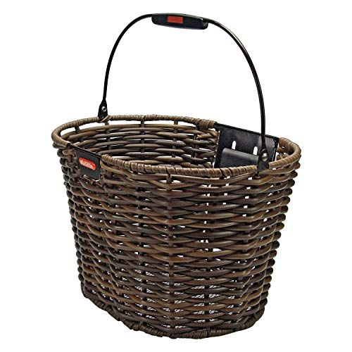 Check Out This KlickFix Structura Front Handlebar Basket oval brown