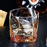POL 250 ml Copas Creativas de Vidrio de Whisky Copas de champán Café Leche Cóctel Vino Copas para té de vodkd y Vaso de Whiskycomo se Muestra